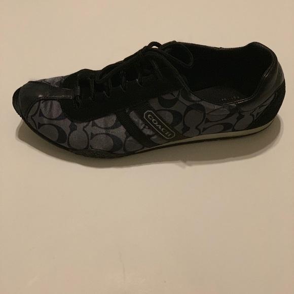 Black Coach Tennis Shoes   Poshmark